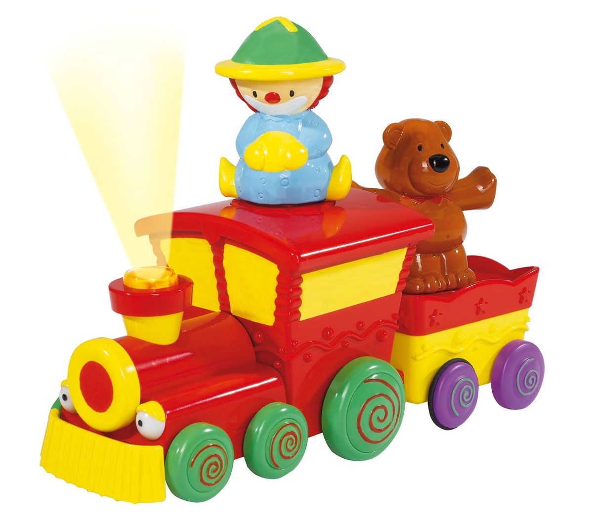 Паровозик - Железная дорога для малышей, артикул: 11956