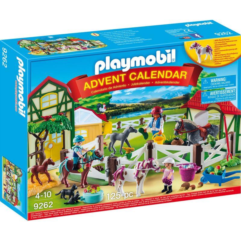 Купить Адвент-календарь - Лошадиная ферма, Playmobil