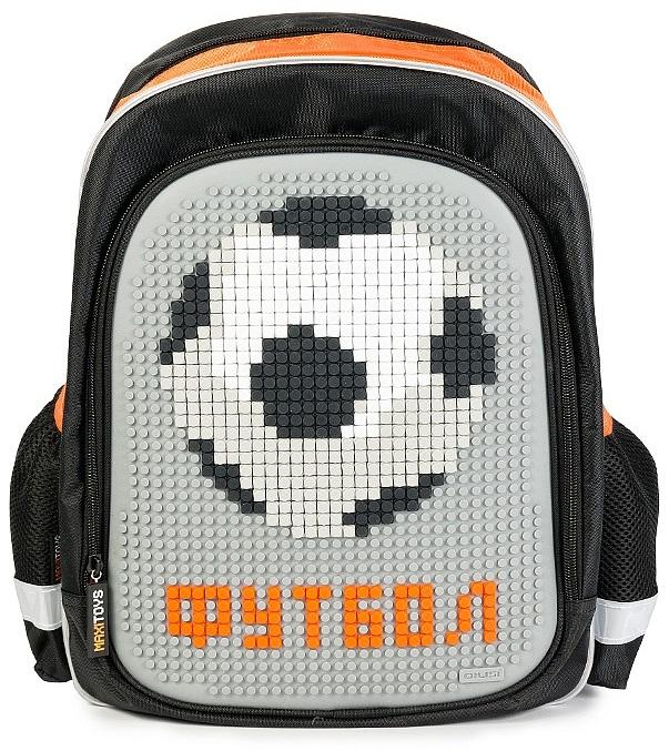 Рюкзак Футбол с пикселямиДетские рюкзаки<br>Рюкзак Футбол с пикселями<br>