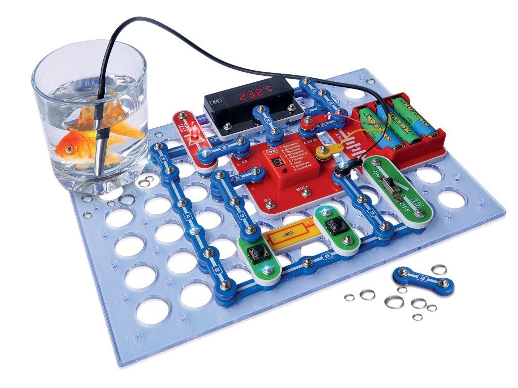 Электронный конструктор - Супер-измерительКонструкторы других производителей<br>Электронный конструктор - Супер-измеритель<br>
