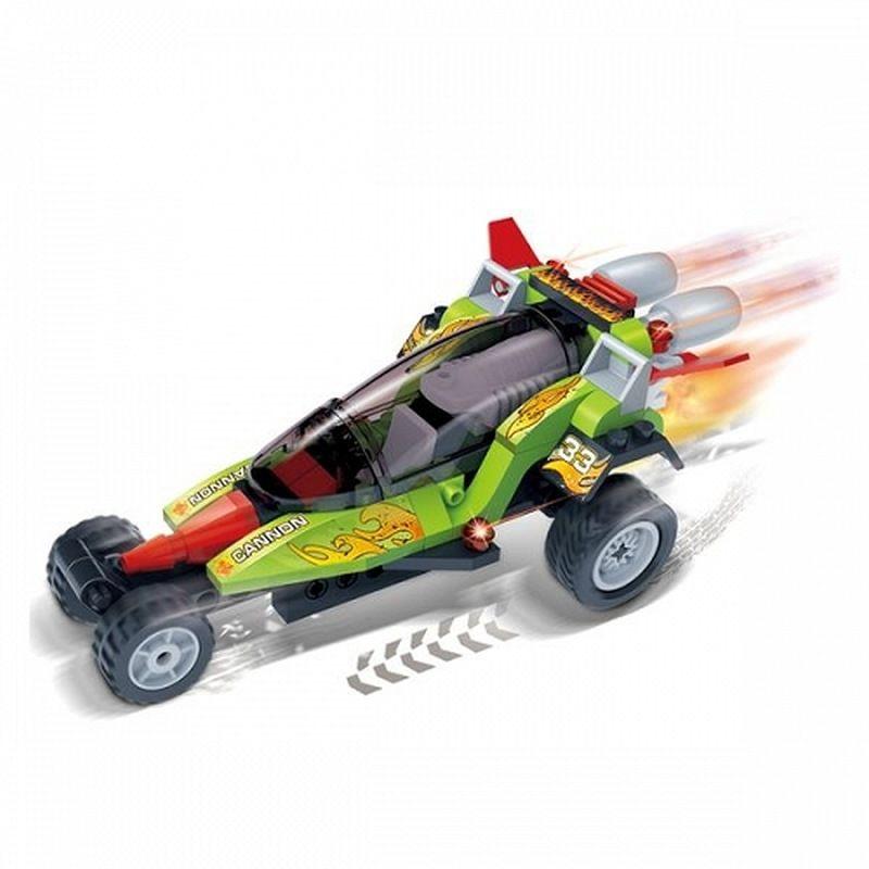 Детский конструктор - Гоночная машина CannonКонструкторы BANBAO<br>Детский конструктор - Гоночная машина Cannon<br>