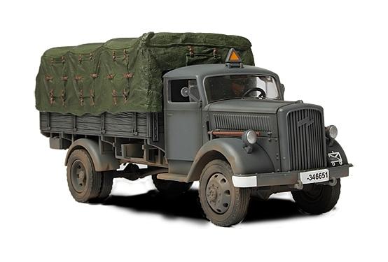 Коллекционная модель - Грузовик 3 тонны 1941 года, Германия, 1:32Военная техника<br>Коллекционная модель - Грузовик 3 тонны 1941 года, Германия, 1:32<br>