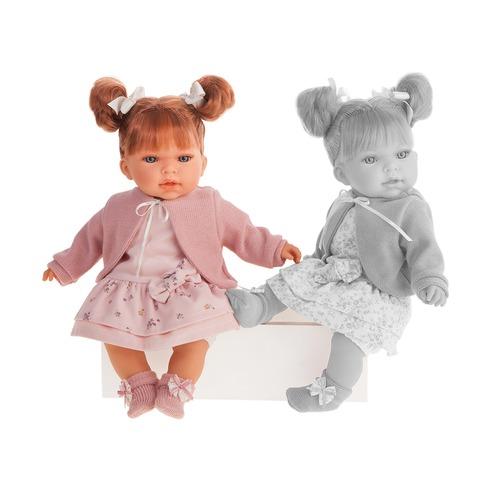 Купить Интерактивная кукла - Альма в розовом, 37 см, Antonio Juan Munecas