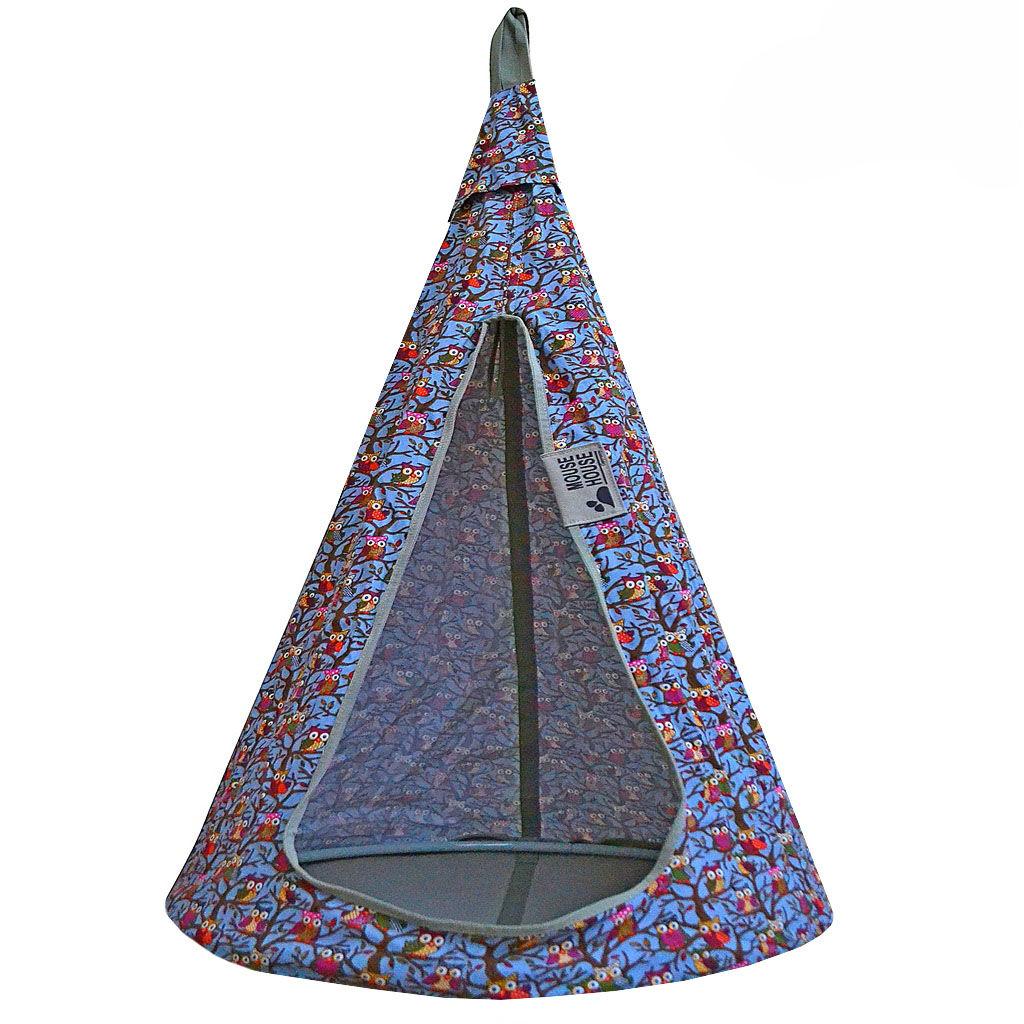 Гамак – Совы, голубыеДомики-палатки<br>Гамак – Совы, голубые<br>