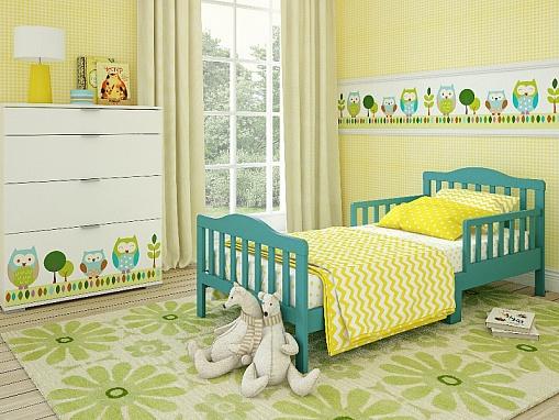 Кровать для дошкольников Candy размер 150 х 70 см, цвет - MintДетские кровати и мягкая мебель<br>Кровать для дошкольников Candy размер 150 х 70 см, цвет - Mint<br>