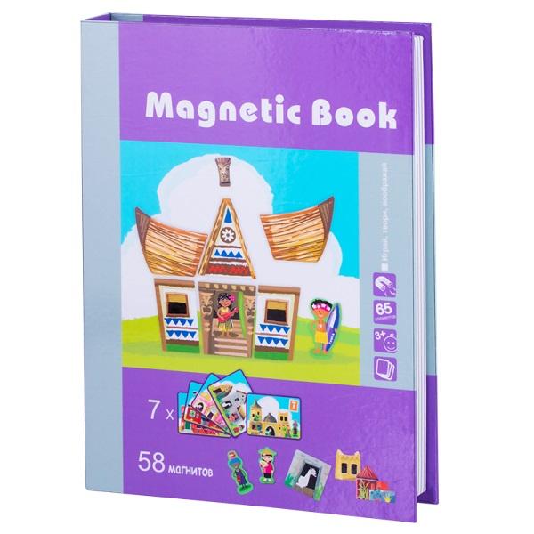 Развивающая игра из серии Magnetic Book - Строения мира