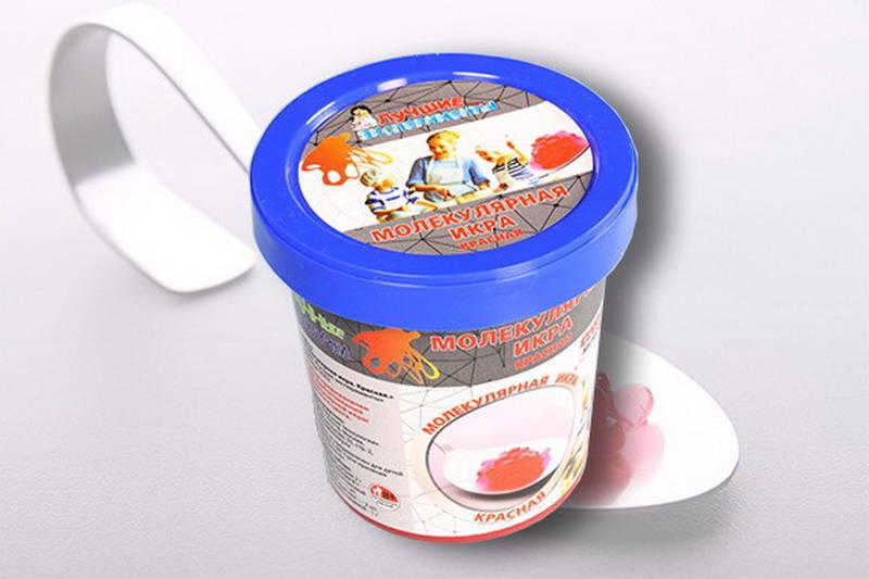 Купить Микро-набор для экспериментов - Молекулярная икра красная, 90 грамм, Научные технологии