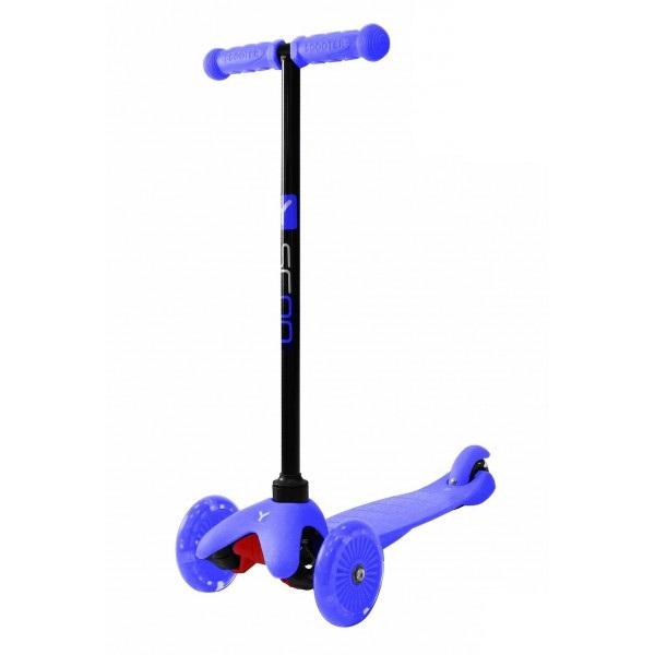 Купить Трехколесный самокат со светящимися колесами RT MINI SHINE A5 blue, 4522RT, Y-Scoo