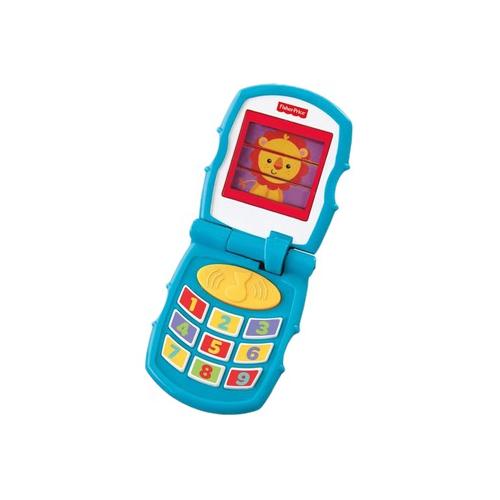 Дружелюбный раскладной телефонРазвивающие игрушки Fisher-Price<br>Дружелюбный раскладной телефон<br>