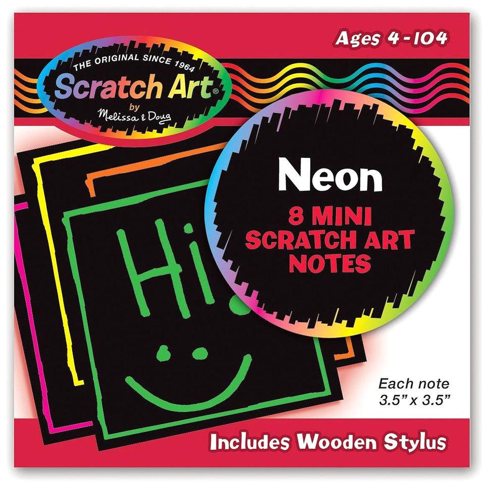 Неоновые мини – стикеры «Scratch art»Наклейки<br>Неоновые мини – стикеры «Scratch art»<br>
