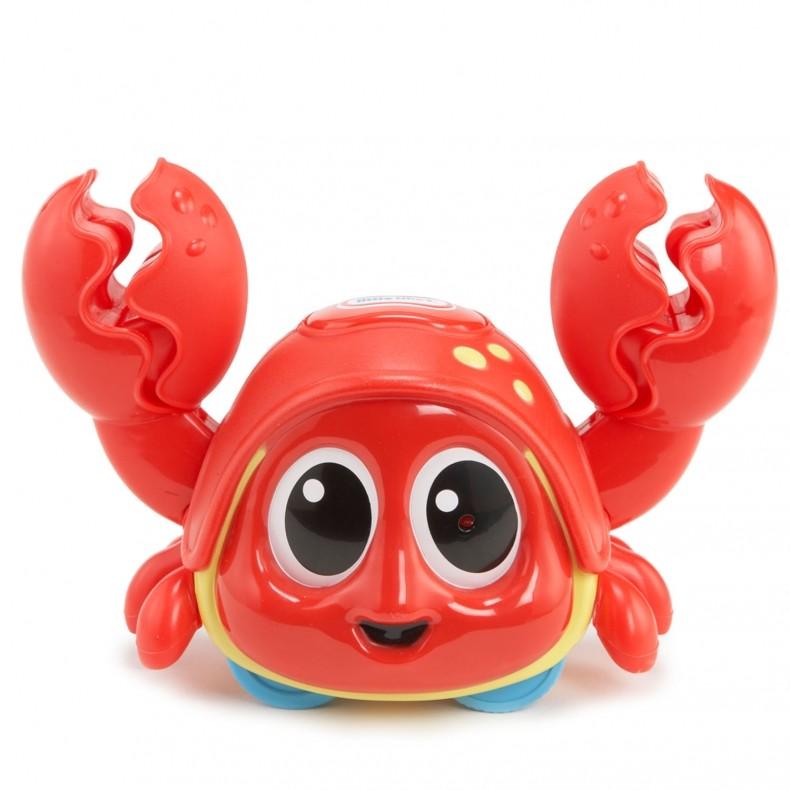 Развивающая игрушка «Шустрый краб», с датчиком движения и звуковыми эффектамиРазвивающие игрушки Little Tikes<br>Развивающая игрушка «Шустрый краб», с датчиком движения и звуковыми эффектами<br>