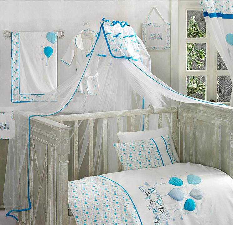 Балдахин серии Happy Birthday 150 х 450 см, Blue - Спальня, артикул: 171440