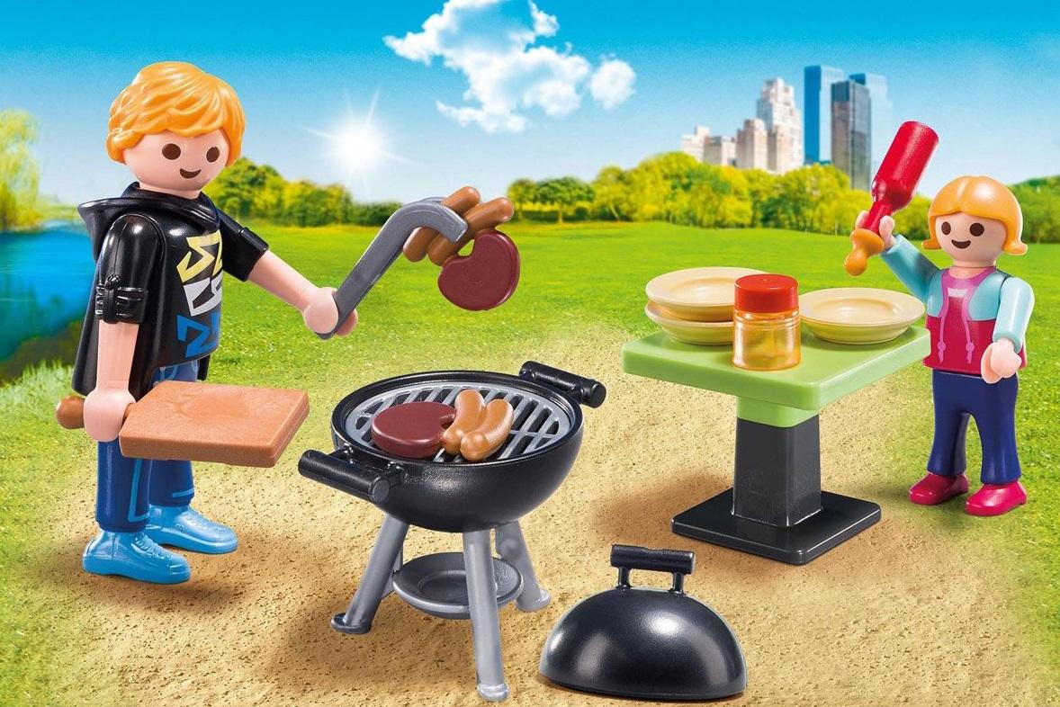 Игровой набор из серии Возьми с собой: Отдых с Барбекю от Toyway
