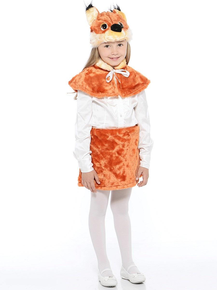 Костюм карнавальный детский – Белочка, мех, размер 28