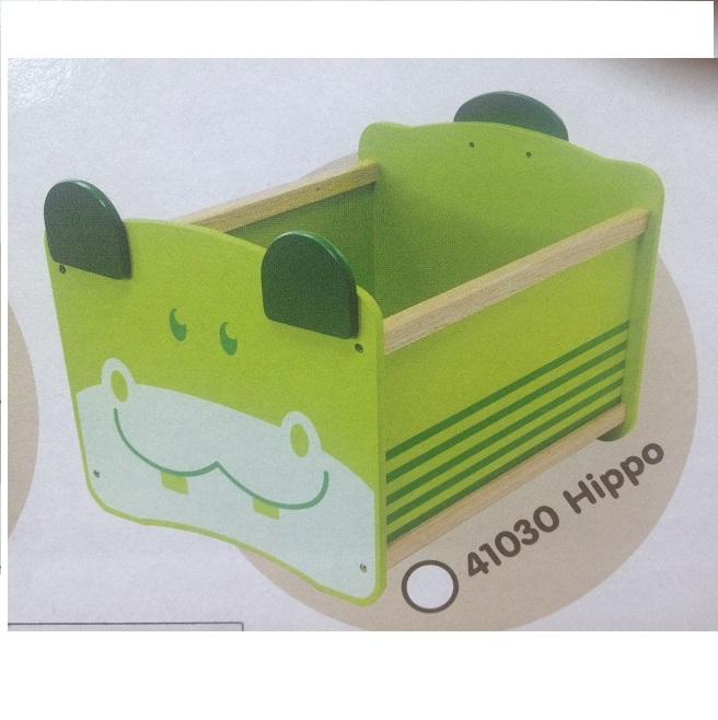 Ящик для хранения Im Toy Бегемот, зелёный