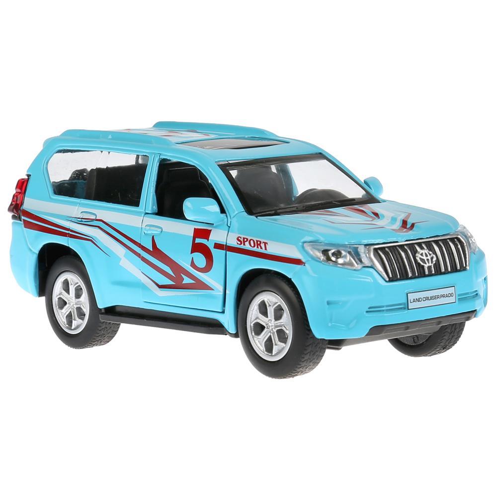 Купить Инерционная металлическая машина – Toyota Prado Спорт, 12 см свет, звук, Технопарк