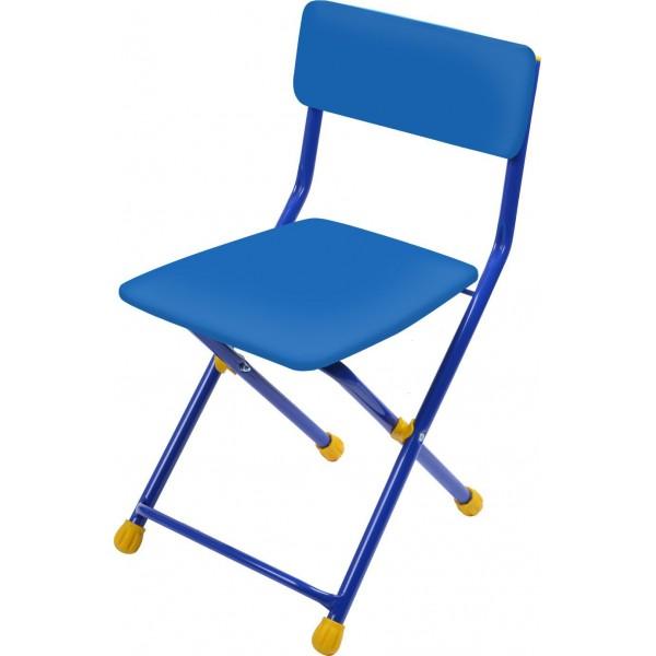 Стул детский складной мягкий из моющейся ткани, синийИгровые столы и стулья<br>Стул детский складной мягкий из моющейся ткани, синий<br>