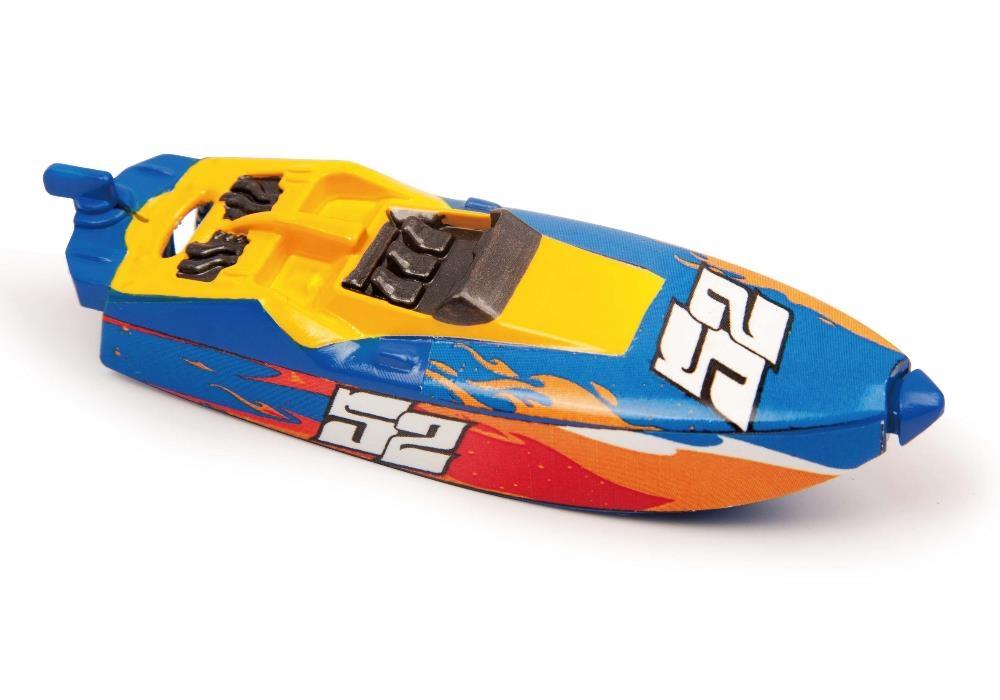 Роболодка Micro Boats, сине-красная от Toyway