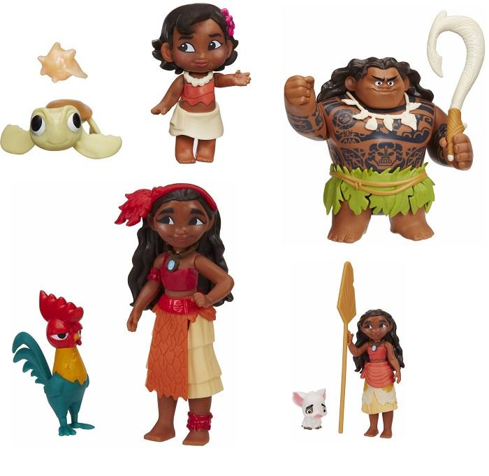 Маленькие куклы МоанаКуклы Disney: Ариэль, Золушка, Белоснежка, Рапунцель<br>Маленькие куклы Моана<br>
