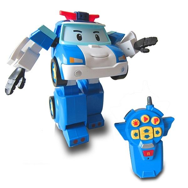 Robocar Poli на радиоуправлении, управляется в виде роботаRobocar Poli. Робокар Поли и его друзья<br>Robocar Poli на радиоуправлении, управляется в виде робота<br>