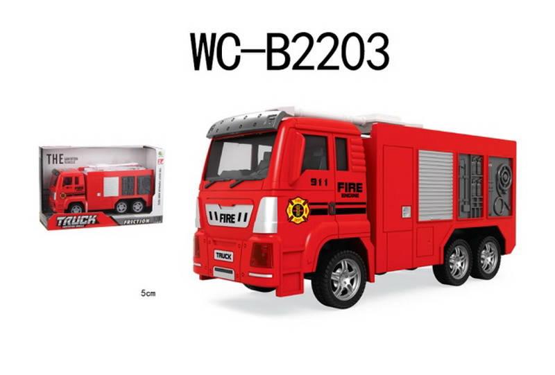 Купить Инерционная машина – Пожарная, ABtoys