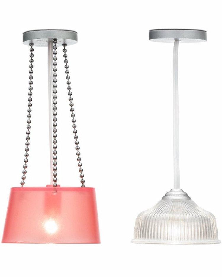 Купить Освещение для домика - Две потолочные люстры, Lundby