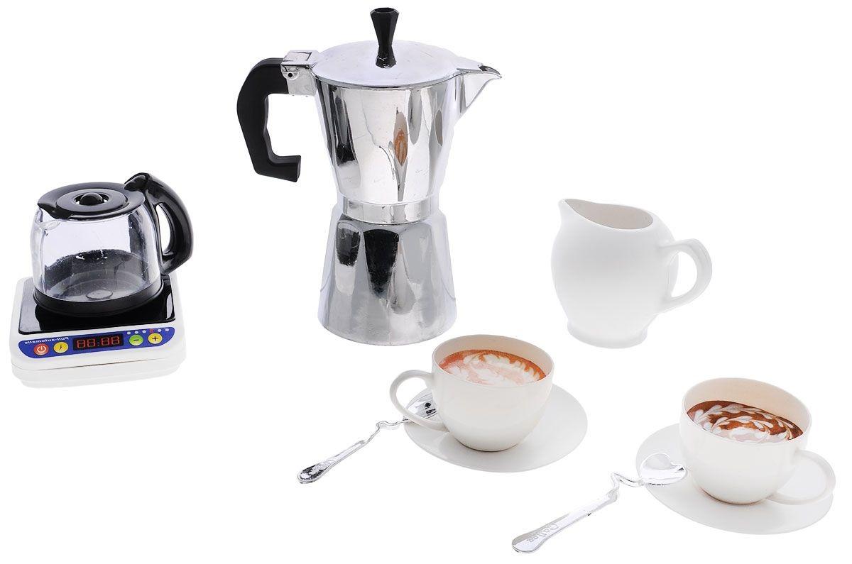 Игровой набор серии Помогаю Маме - КофейныйАксессуары и техника для детской кухни<br>Игровой набор серии Помогаю Маме - Кофейный<br>