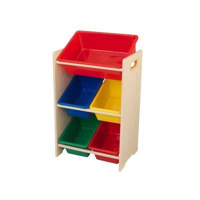 Купить Система хранения с 5 яркими контейнерами, KidKraft