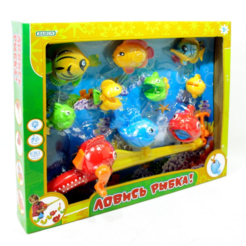Игровой набор – Рыбалка, удочка и 9 рыбок - Для самых маленьких, артикул: 166451