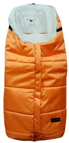 Спальный мешок в коляску - Holly, оранжевыйАксессуары к коляскам<br>Спальный мешок в коляску - Holly, оранжевый<br>