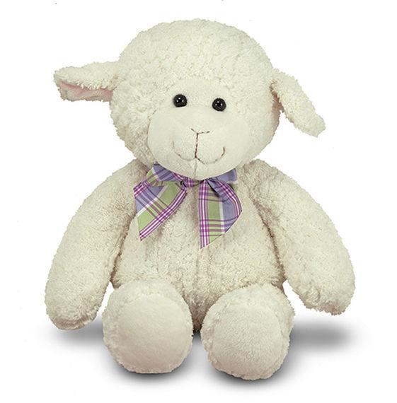 Мягкая игрушка – Овечка, 27 см.Животные<br>Мягкая игрушка – Овечка, 27 см.<br>