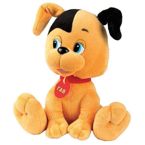 Мягкая игрушка - Щенок из мультфильма Котенок Гав, озвученный, 25 см.Игрушки Союзмультфильм<br>Мягкая игрушка - Щенок из мультфильма Котенок Гав, озвученный, 25 см.<br>