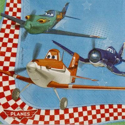 Салфетка – Самолеты, 33 см 20 штукСамолеты<br>Салфетка – Самолеты, 33 см 20 штук<br>