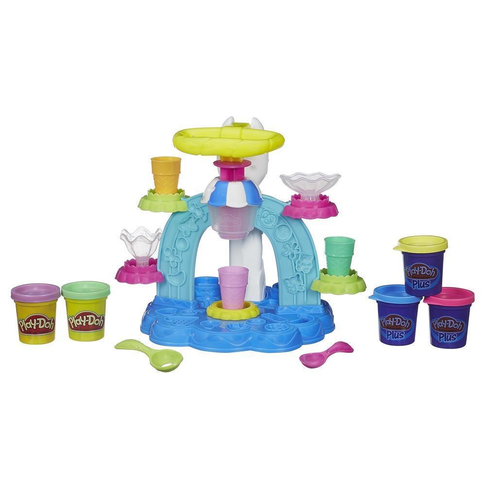 Набор Play-doh - Фабрика мороженогоПластилин Play-Doh<br>Набор Play-doh - Фабрика мороженого<br>