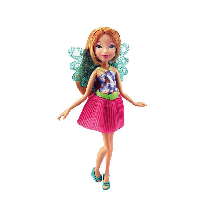 Кукла Winx Club - Волшебный питомец, Flora