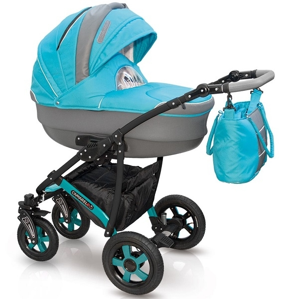 Детская коляска Camarelo Carmela 2 в 1, цвет CR_09Детские коляски 2 в 1<br>Детская коляска Camarelo Carmela 2 в 1, цвет CR_09<br>