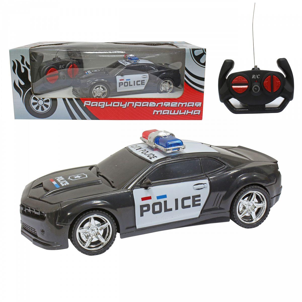 картинка Машина полицейская на радиоуправлении Драйв, коробка от магазина Bebikam.ru