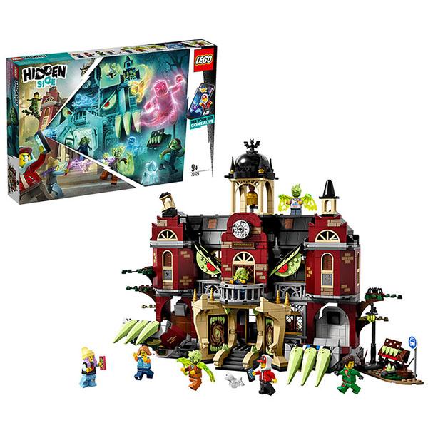 Купить Lego Hidden Side Конструктор Лего Хидден Сайд - Школа с привидениями Ньюбери