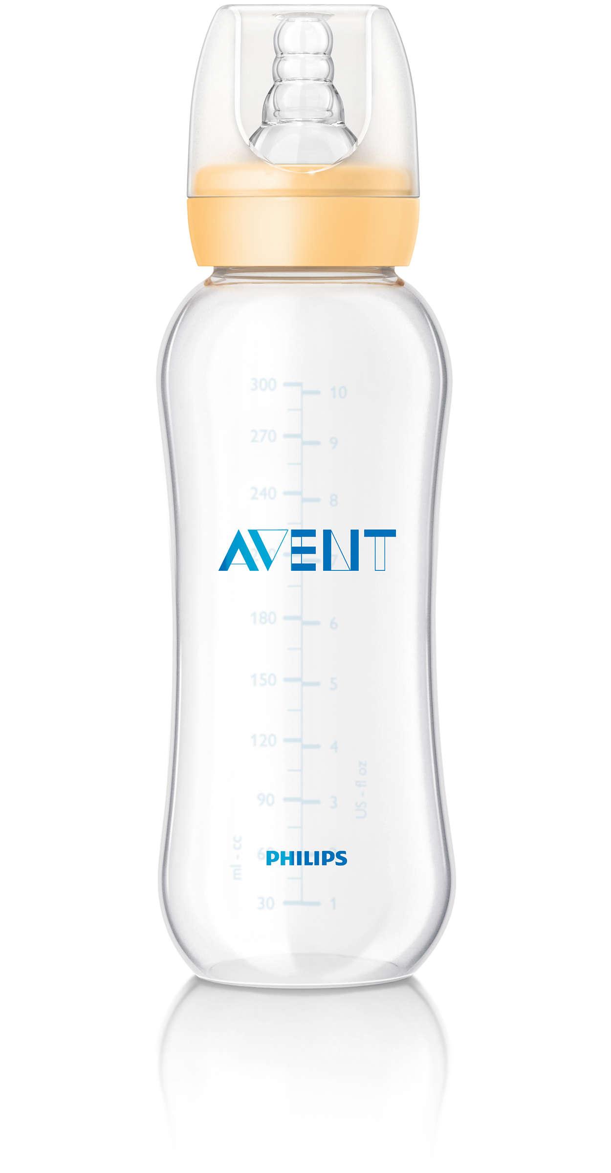 Бутылочка из полипропилена - Сери Essential, 300 мл,Товары дл кормлени<br>Бутылочка из полипропилена - Сери Essential, 300 мл,<br>