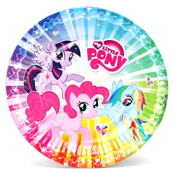Набор из 6 тарелок – My little ponyMy Little Pony<br>Набор из 6 тарелок – My little pony<br>