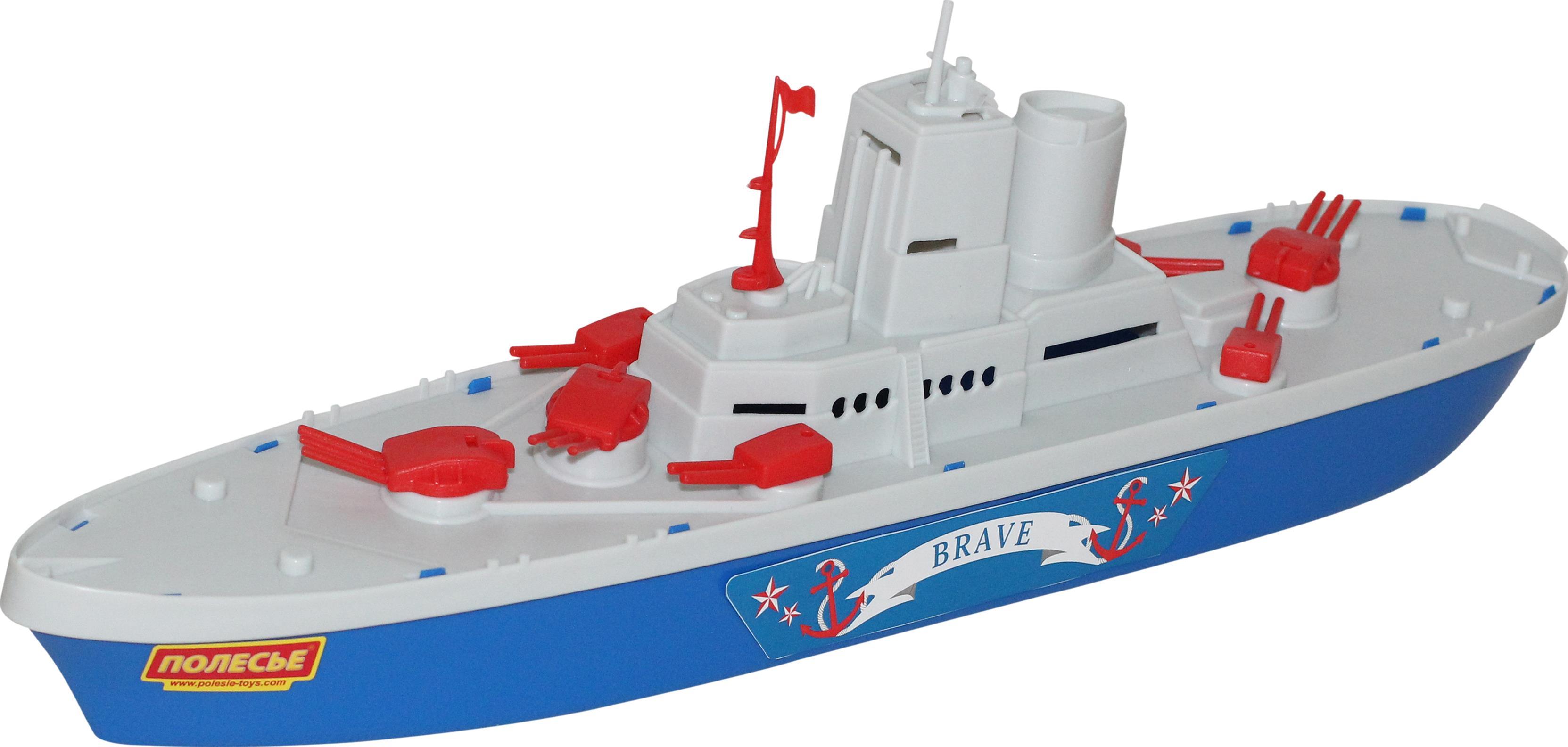 Крейсер Смелый, 47 см.Корабли и катера в ванну<br>Крейсер Смелый, 47 см.<br>