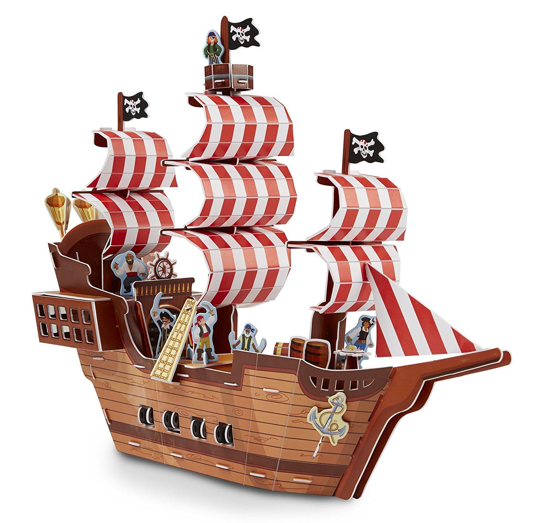 3D Пазл - Пиратский корабльПазлы объёмные 3D<br>3D Пазл - Пиратский корабль<br>