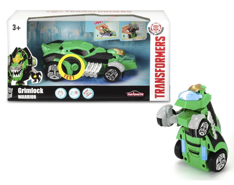 Машинка-трансформер из серии Трансформеры - Grimlock со светом и звуком, 15 см.Игрушки трансформеры<br>Машинка-трансформер из серии Трансформеры - Grimlock со светом и звуком, 15 см.<br>