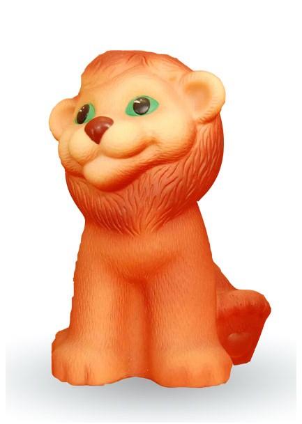 Игрушечная фигурка - Львенок РиккиРезиновые игрушки<br>Игрушечная фигурка - Львенок Рикки<br>