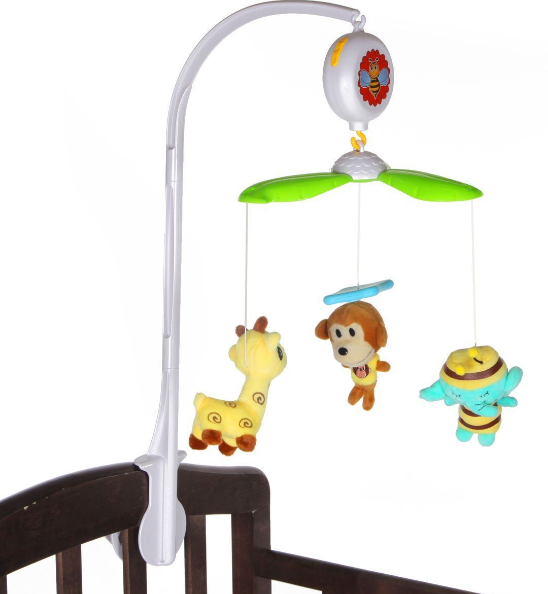 Мобиль на кроватку с мягкими игрушкамиМобили и музыкальные карусели на кроватку, игрушки для сна<br>Мобиль на кроватку с мягкими игрушками<br>