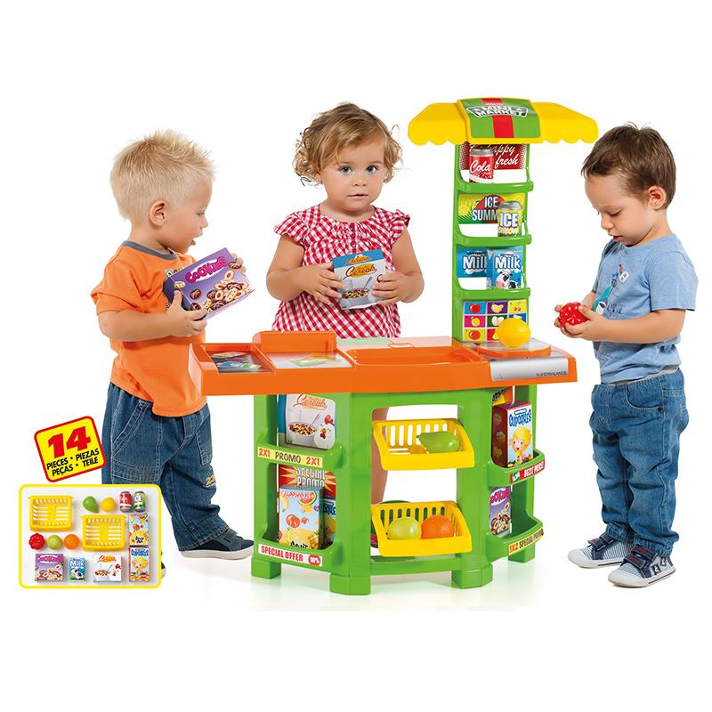 Игровой супермаркет с продуктамиДетская игрушка Касса. Магазин. Супермаркет<br>Игровой супермаркет с продуктами<br>