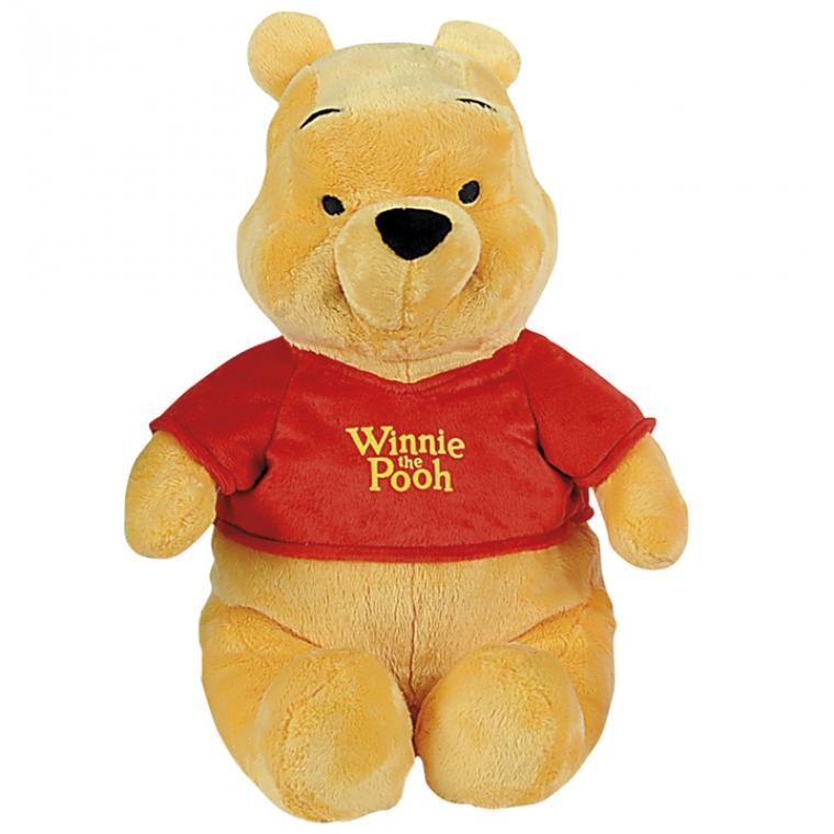 Мягкая игрушка Медвежонок Винни, 43 смМягкие игрушки Disney<br>Мягкая игрушка Медвежонок Винни 43 см, Nicotoy, 5872676.<br> <br>Пополнить свою коллекцию плюшевых игрушек с помощью главного героя популярного мультсер...<br>