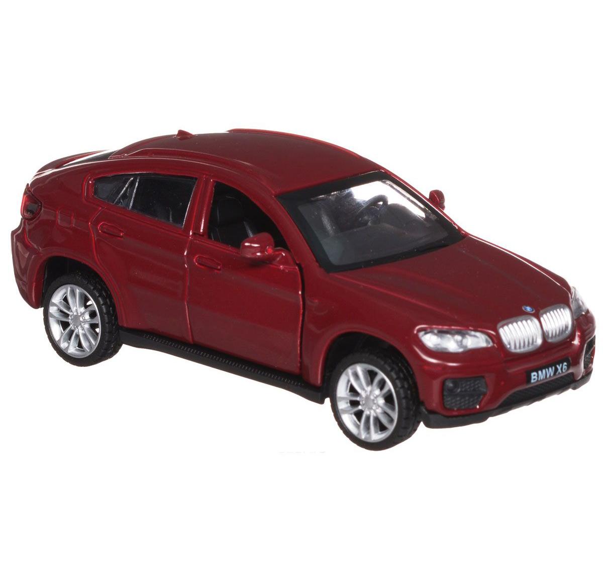 Машина металлическая инерционная - BMW X6BMW<br>Машина металлическая инерционная - BMW X6<br>