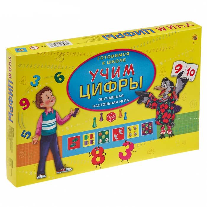 Купить Настольная игра Готовимся к школе - Учим цифры, Рыжий Кот