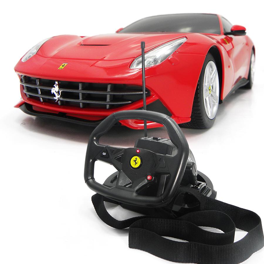 Купить Радиоуправляемая машина - Ferrari F12 Berlinetta, масштаб 1:18, Rastar
